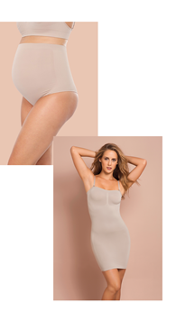 Picture of [DOUBLE SET] MATERNITY PANTY + EMANA SLIP